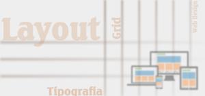 Layout Tipografia Design Grid
