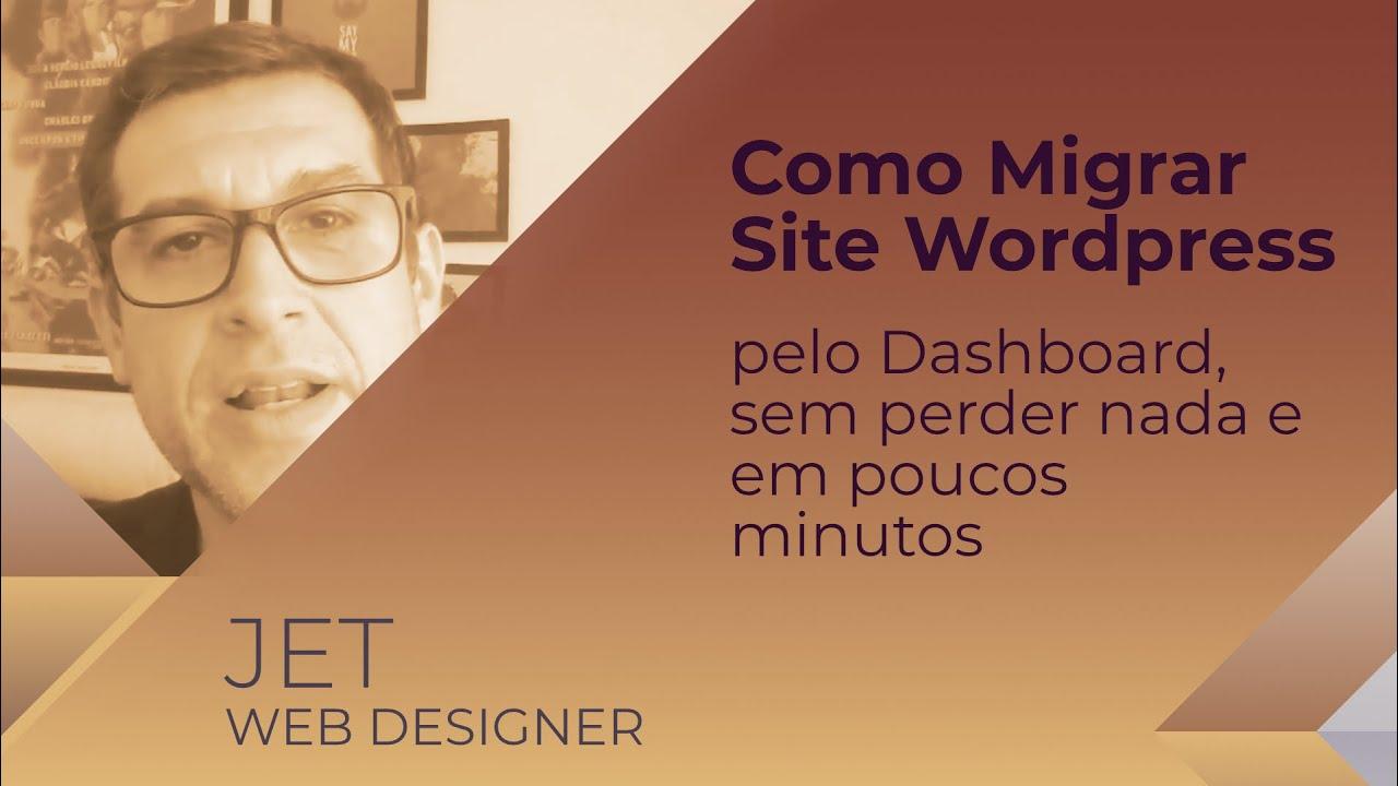 como migrar um site em wordpress pelo dashboard sem perder nada e em poucos minutos - Como migrar um site em Wordpress pelo Dashboard, sem perder nada e em poucos minutos