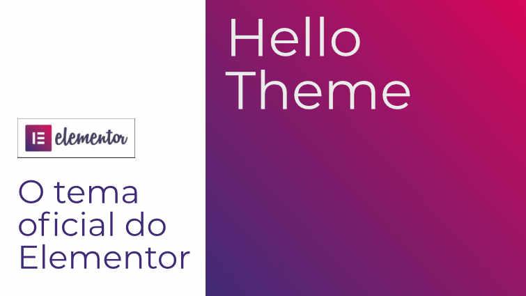 temas compatíveis com elementor - Hello Theme