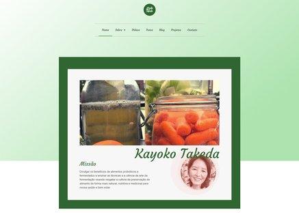 kayoko takeda site lajet digital p - Criação de Sites