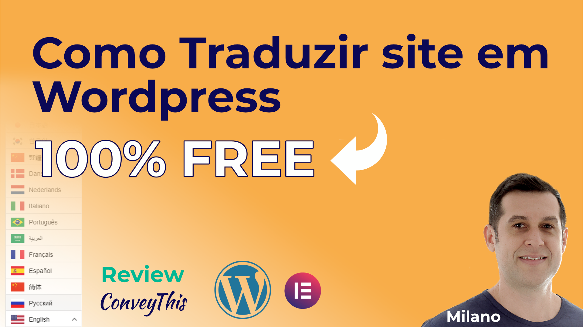 How to Translate Website in Wordpress [Free Plugin]